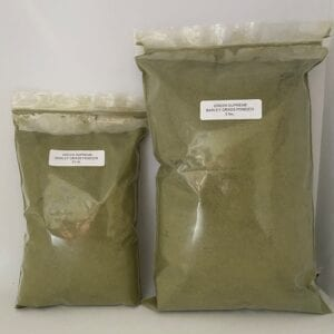 12 oz. GREEN SUPREME dried Barley Grass